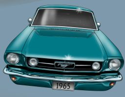 65 Mustang by stlcrazy