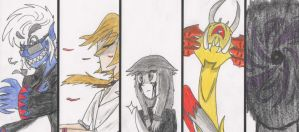 My Creepypasta OCs Battle cut by Baka2niisan