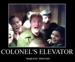 Colonel's Elevator by SixSamMaster