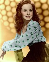 Jeanne Crain Colorized by ajax1946
