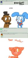 Ask five nights at cuties [15-20] by Cookie-fish