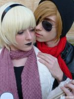 Rose Lalonde x Dave Strider - WINTERSTUCK by ExionYukoCosplay