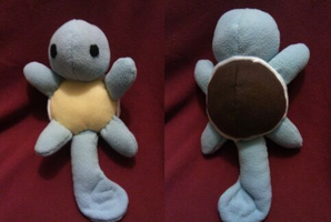 Plush Squirtle by MandieDaFerocious
