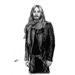 Jared Leto Portrait 2 by Taurina