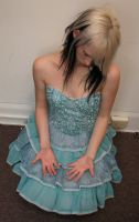 Blue Dress Stock 12 by KristabellaDC3