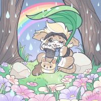 April Showers Bring May Flowers by Kris-Goat