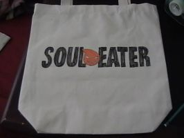Soul Eater  canvas bag back by shades-chan