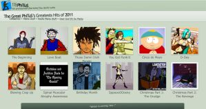 Phi's Greatest Hits of 2011 by PhiTuS