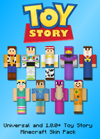 Toy Story Minecraft Skin Pack by 0-Technos-0