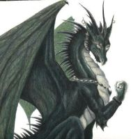 Green Dragon by gothic-master