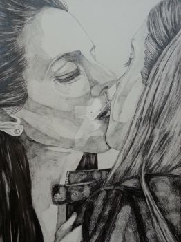 Valkubus Bo and Tamsin Lost Girl by stellaschmn