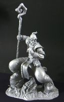 Battle Chasers: Knolan (unpainted) by SKBstudios