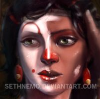 The Jester Face Closeup by SethNemo