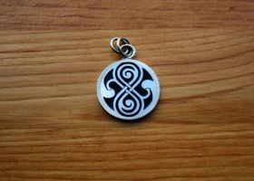 Silver Seal of Rassilon by merovech-navarre