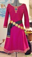 Zelda dress + belts by Honey-and-Matsuki