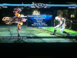 Soul Calibur V, Voldo Vs Patroklos by LightTheDragon19