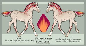 9388 Nordanner Foal - Design Holder by SweetLittleVampire