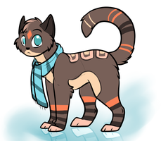 cat adoptable closed by FuffAdoptables