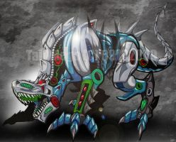 Steel Dragon by TaiOMega