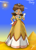 Princess Daisy - New Version by AndsportsART