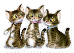 Mittens, Moppet, and Tom Kitten by MrBig2