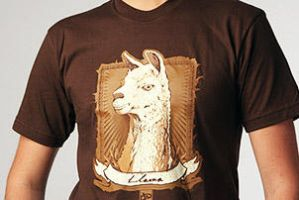 Llama Llama T-Shirt (Men's) by deviantARTGear