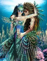 A Sea of Love and Beauty by RavenMoonDesigns