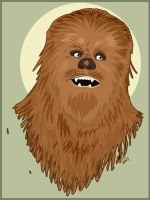 Star Wars: Chewbacca by RevDenton