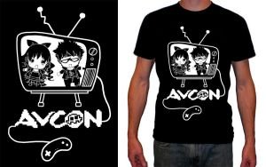 AVCon T-Shirt Competition by lolita-candy-bear