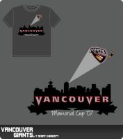 Vancouver Giants T-Shirt 4 by rkz