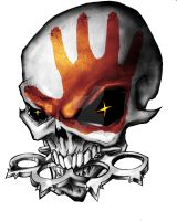 Tattoo design skull and knuckles by woody21