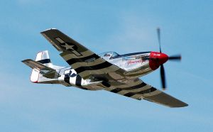 P52 Mustang by parallaxadjustable