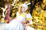 Fionna and Cake cosplay by Kyoosh