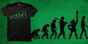 zelda: missing link shirt by biotwist