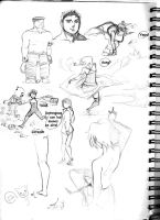 Sketch Page  Number 8 by iJate