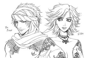 Prince of Persia by cerae28