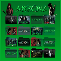 Arrow folder icons: S1- S3 by F0l13aD3ux