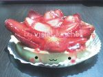 Cute Strawberry Cheesecake by VioletLunchell