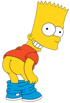 Bart Simpson - Eat My Shorts! (fixed colors) by Arthony70100