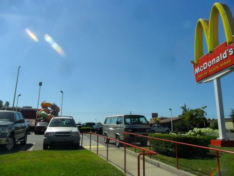 Crappy McDonald's shot. by Brenna1791