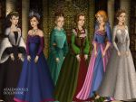 Six Wives of Henry VIII by TLKFANKING