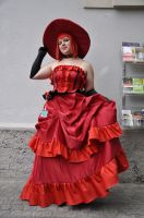 animuc2013: Madame Red by TheNikodemus