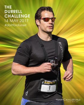 Henry Cavill for Durrell Challenge. by urielwelsh