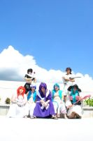 Kawaii Kon Magi group by Ineedaname9