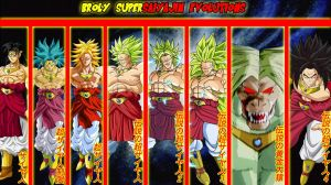 Broly Supersaiyajin Evolutions by gonzalossj3