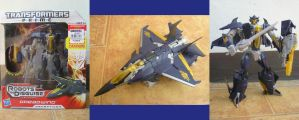TF:P Robots in Disguise Dreadwing by BoggeyDan