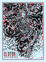 Screenprint: Clutch by milestsang