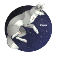 Gazing at the moon by Thami-Mixim