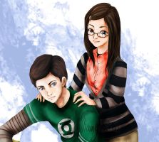 Sheldon x Amy by shamylicious