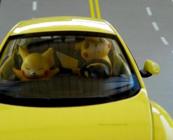 Slow down, Pikachu! by Bimmi1111